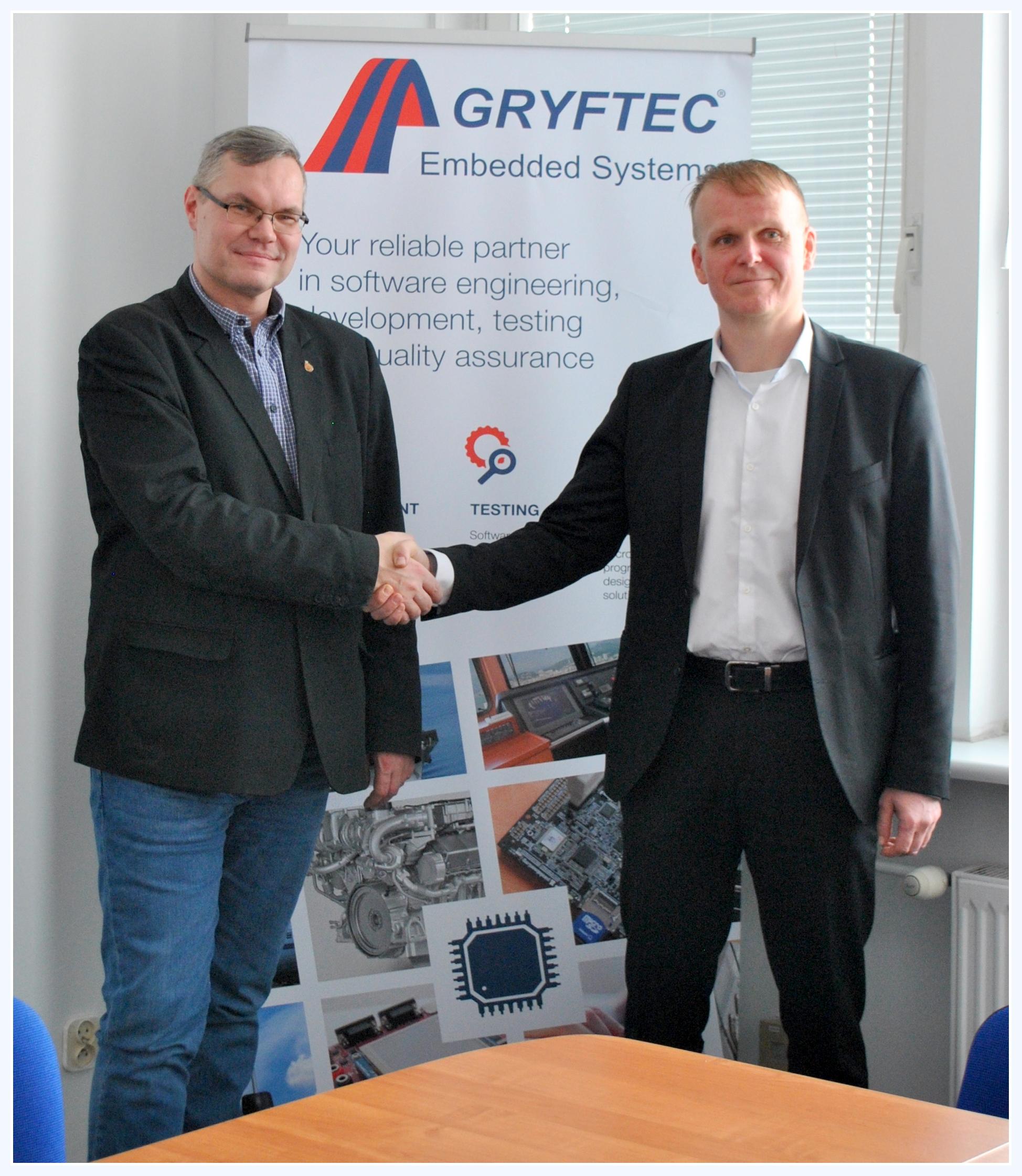Porozumienie o współpracy ZUT-GRYFTEC