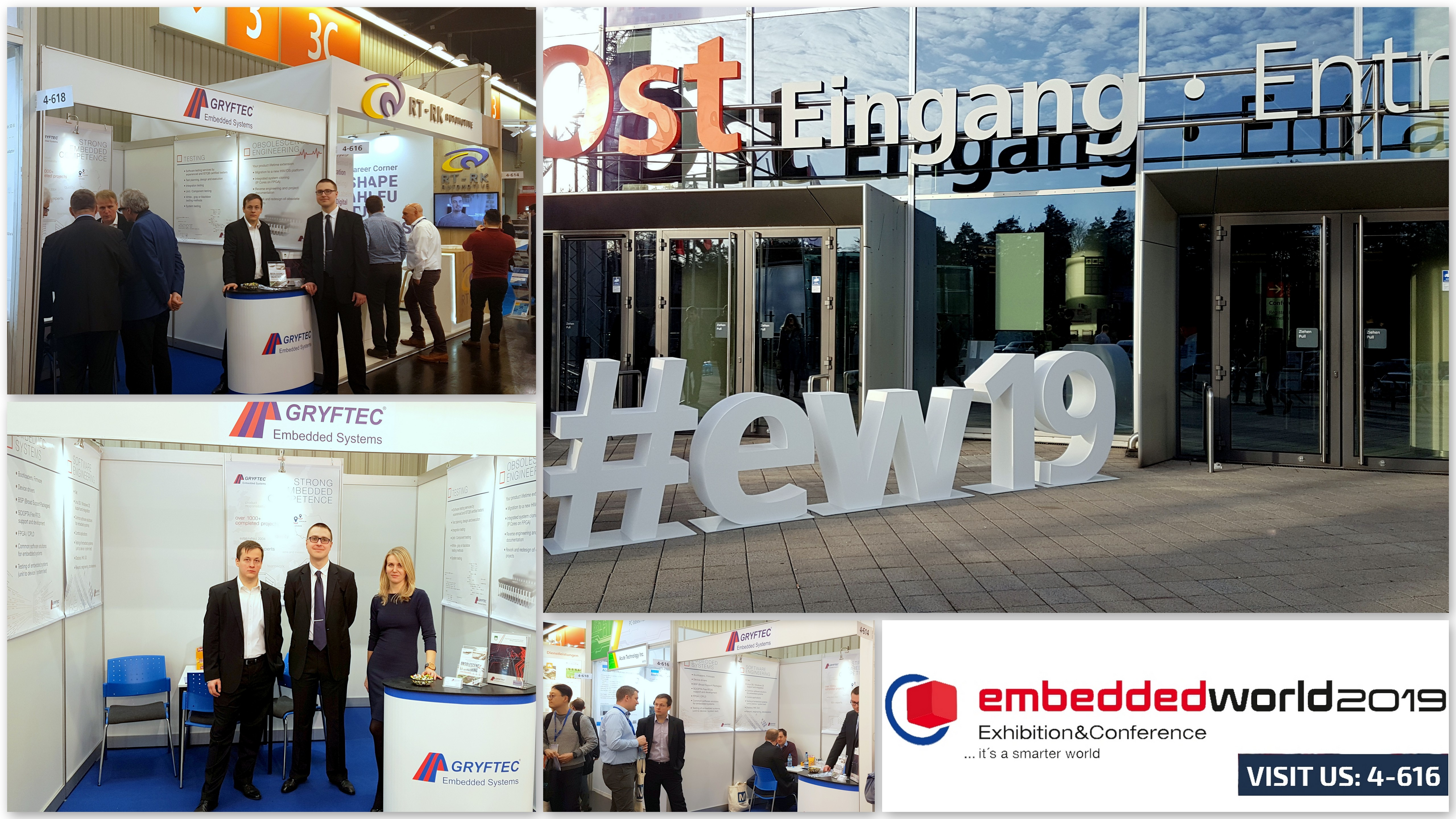 Embedded World exhibitor